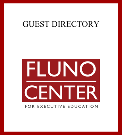 Fluno Center In-Room Guest Directory